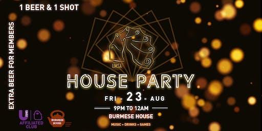 UMSA x House Party 2K19