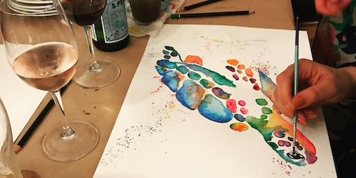 Watercolours and Wine - 7 September 2019
