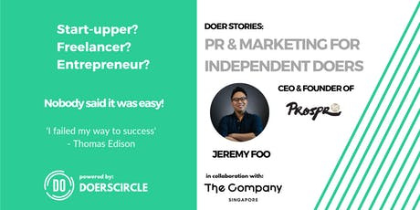 Doer Stories: PR & Marketing for Independent Doers tickets