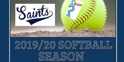 Saints Softball Wagga Registration Day