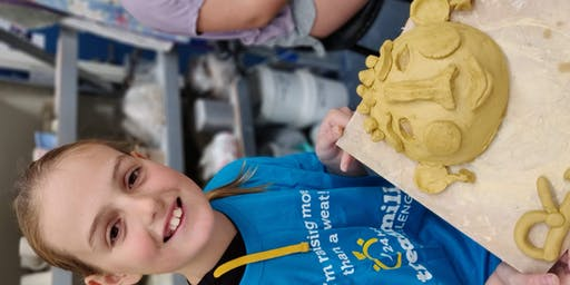 Thursday Little Potters 8 Week 'Hand Building  and Wheel Throwing' Classes