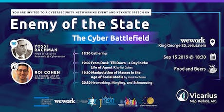 Enemy of the State: The Cyber Battlefield tickets