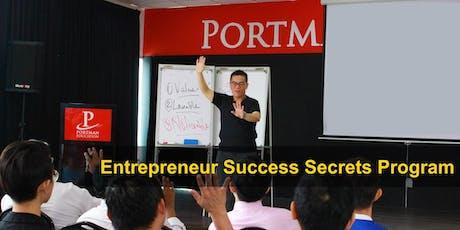 Entrepreneur Success Secrets Program tickets
