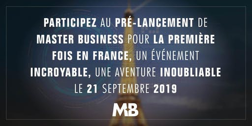 Pré-lancement Master Business Paris