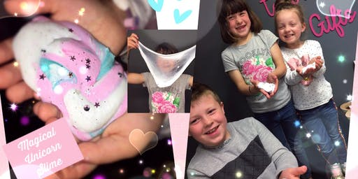 Magical Fluffy Unicorn/Galaxy Slime Workshop!!