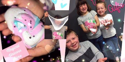 Magical Fluffy Unicorn/Galaxy Slime Workshop!!