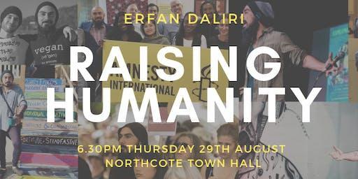 Raising Humanity by Erfan Daliri - Melbourne Book Launch