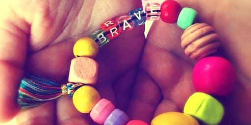 Wow, sensory play, Mindful Bracelets!