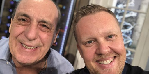 Gennaro Contaldo in conversation with Olly Smith with food & drink from Caccia & Tails