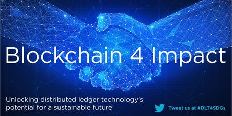 Blockchain 4 Impact tickets