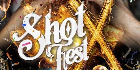 Shotfest X - Birmingham Freshers Welcome Party tickets
