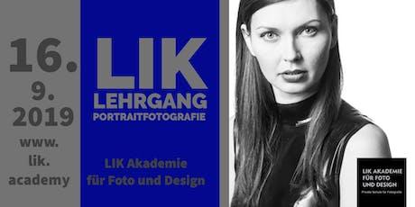 Berufsbegleitender Diplomlehrgang Portraitfotografie Tickets