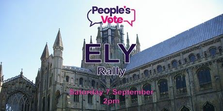 Ely People's Vote Rally tickets