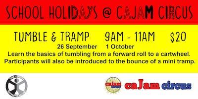 Tumble & Tramp - School Holidays @ Cajam Circus - 26 September