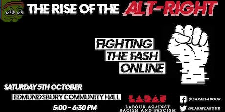 The Rise of the Alt-Right: Fighting the fash online tickets