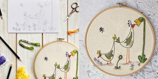 Stitch a Doodle with Nicky Barfoot