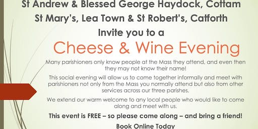 St Andrew's Cottam - Cheese & Wine Social Evening