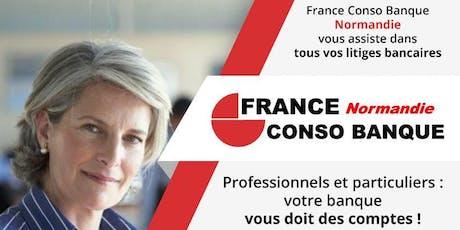 Permanence France Conso Banque Normandie à Rouen billets