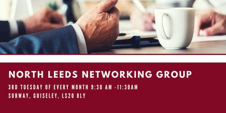 North Leeds Networking Group: October 2019 tickets