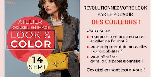 ♥♥♥  Ateliers LOOK & COLOR Les couleurs qui me donnent bonne mine !