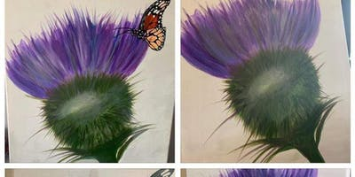 Paint a Thistle Aberdeen AM