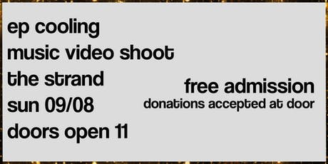 EP Cooling Music Video Shoot tickets