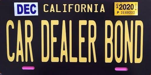 Renew Your Dealer License & Your Car Dealer Bond - Walnut Creek