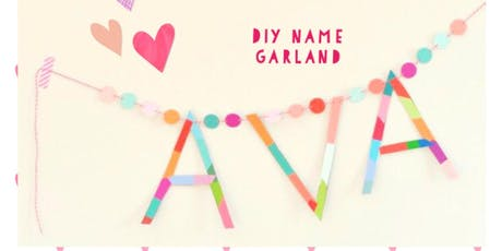 WOW BEAUTIFUL NAME BUNTING!! tickets