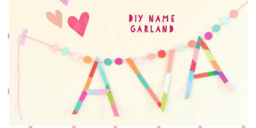 WOW BEAUTIFUL NAME BUNTING!!