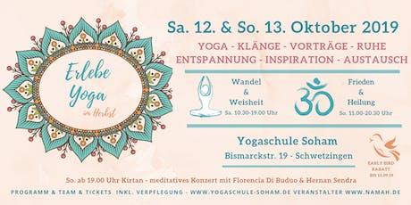 Erlebe Yoga - im Herbst - Tickets