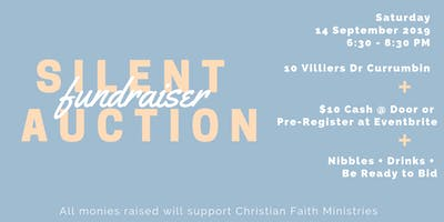 Silent Auction Fundraiser for Christian Faith Ministries