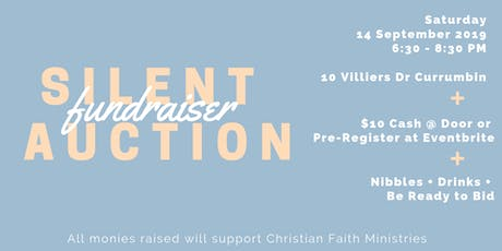 Silent Auction Fundraiser for Christian Faith Ministries tickets