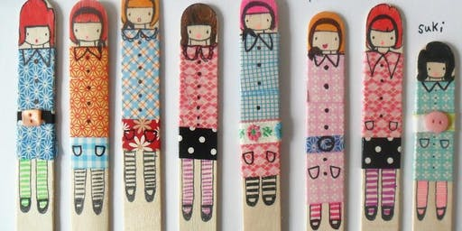 Make your own Miss Lolly Dolly & Friends!
