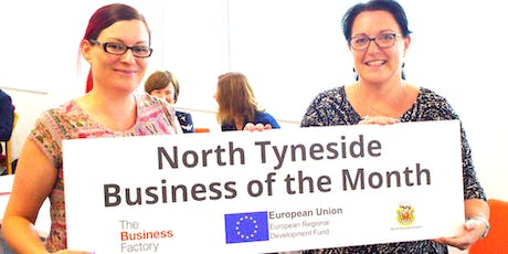 Business of the Month Coffee Morning - Thursday 19th September at 9.30am (at Evolution Football Centre Coble Dene, North Shields, NE29 6DL) tickets