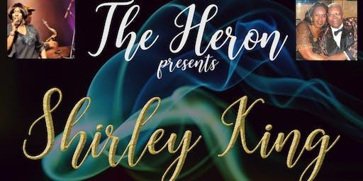 Shirley King at The Heron