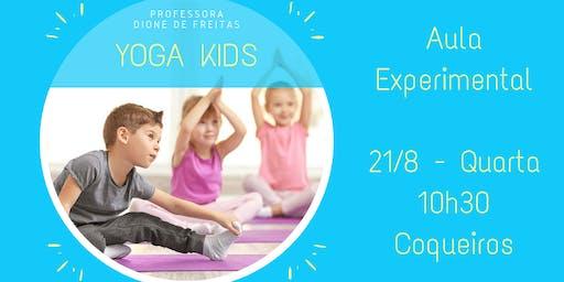 Yoga Kids - Aula Experimental