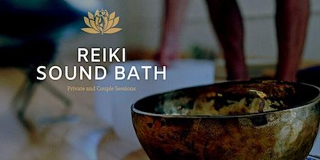 Private Reiki Sound Bath tickets