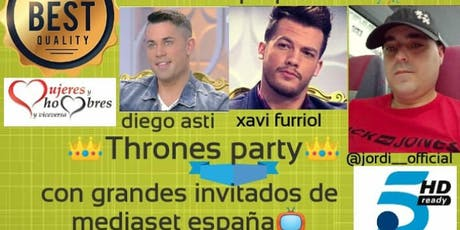 The thrones party entradas