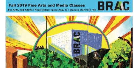Fall 2019 Art Classes tickets