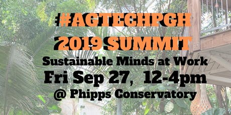 #AgTechPgh Summit 2019 tickets