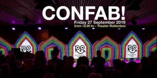 ROTTERDAM PRIDE 2019: CONFAB