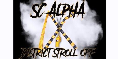 2019 SC Alpha District Stroll Off tickets
