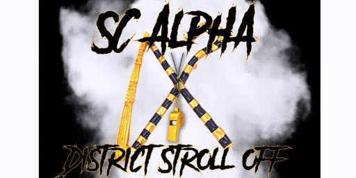 2019 SC Alpha District Stroll Off