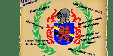 Mittelalter Benefiz Spektakelum Anno dazumal die Zeitreise Tickets
