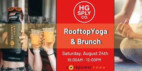 CorePower Rooftop Yoga & Brunch tickets
