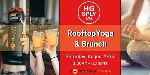 CorePower Rooftop Yoga & Brunch