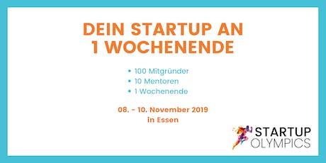 Startup Olympics - Dein Startup an einem Wochenende Tickets