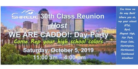 WE ARE CADDO! Day Party tickets