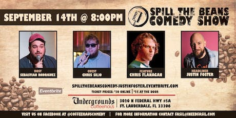 Spill the Beans Stand Up Comedy Show- Justin Foster (Special Event) tickets
