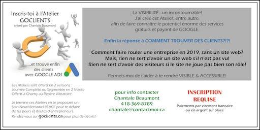 Atelier GOCLIENTS Québec - Édition journée complète 24 aout 2019